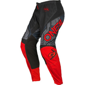 O'Neal Element Pantaloni Uomo, nero/rosso
